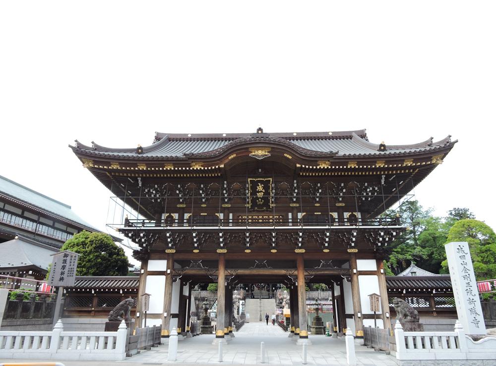 成田山新勝寺 総門です。