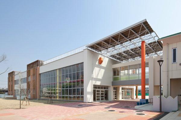 公共建築イメージ 成田市立公津の杜小学校