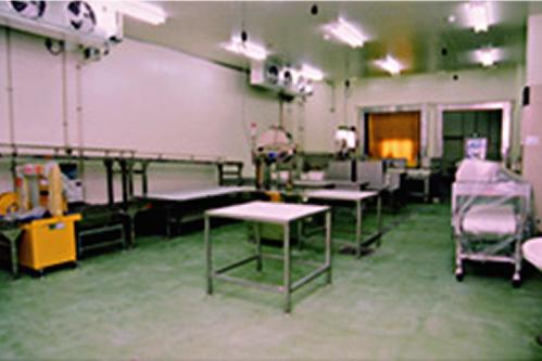 施工例:マグロ加工工場
